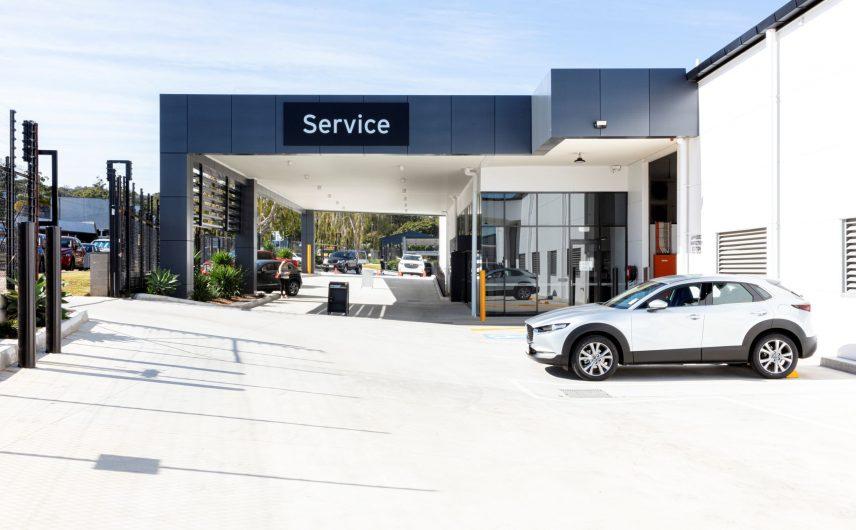 Mazda Tolmer Place Service Centre